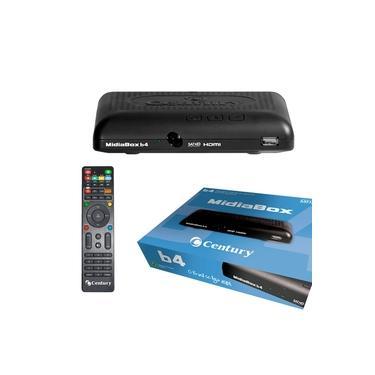 Receptor Century MidiaBox HDTV B4 LANÇAMENTO Midia box HD