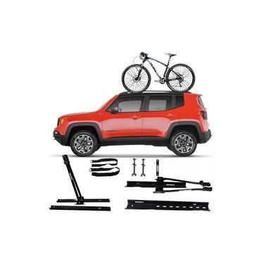 Suporte Transbike Rack Teto Universal Jeep Renegade 1 Bike