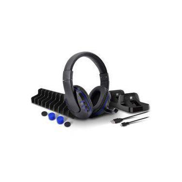 Headset 5 Em 1 Game Pack Ps4 - Slim - Pro
