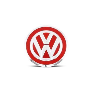 Imagem de Calota Centro Roda VW UP Aro 14 15 16 17 Vermelho