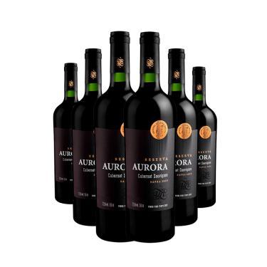 Vinho Aurora Reserva Cabernet Sauvignon 6X750ml