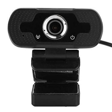 Webcam, Webcam USB 1080P para computador, Webcast on-line de redução de ruído digital Câmera de mesa com microfone