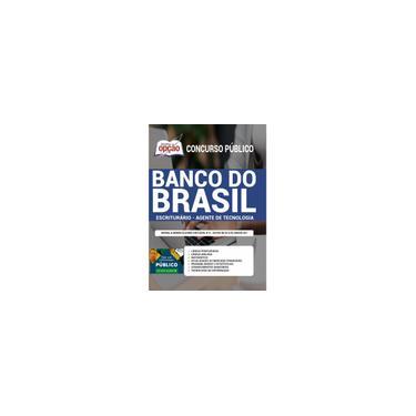 Imagem de Apostila Banco Do Brasil Escriturário Agente Tecnologia