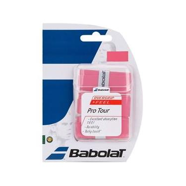 Overgrip Babolat Pro Tour X3 Rosa