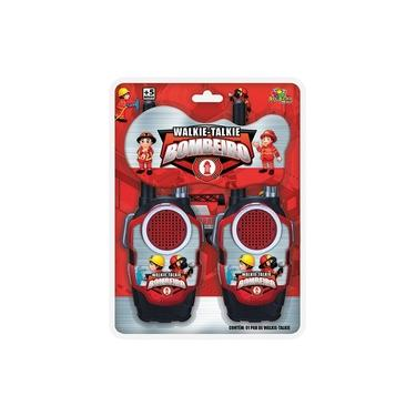 Walkie Talkie Radio Comunicador Brinquedo Infantil- Bombeiro