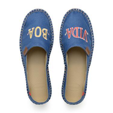 Alpargatas Havaianas Alpargatas Vida Boa Azul  feminino