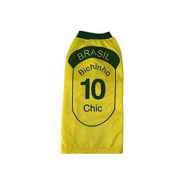 Camiseta do Brasil Tam. 10 - Bichinho Chic