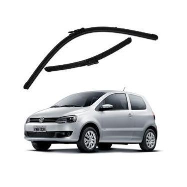 Kit Palhetas Limpador de Parabrisa Dianteiro VW Volkswagen Fox Ano 2003 - 2012