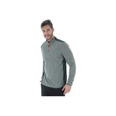 4cf39c18438 Blusa de Frio Fleece Oxer Fleece Torquay - Masculino - VERDE ESCURO Oxer