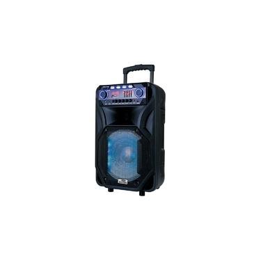 Caixa de Som 800w Bluetooth 1 Microfone Cont Sm Cap12t 5148 Sumay