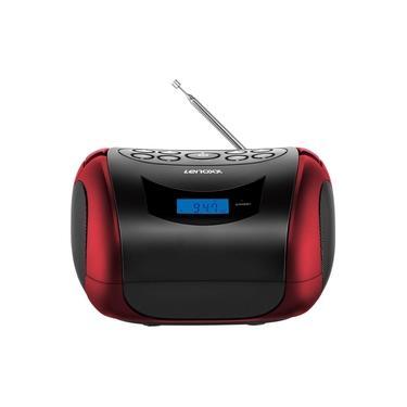 Rádio Portátil Boombox Lenoxx BD 150 Bluetooth USB SD 4W