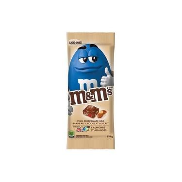 Barra Chocolate M&M'S Almonds - Sabor Amendoas 110,6G