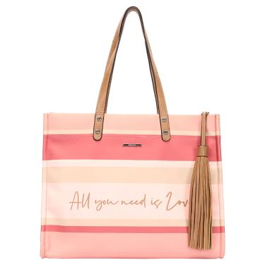 Bolsa shopping bag mormaii listrada Nude