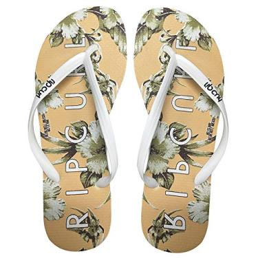 Chinelo Rip Curl Island Time Tgt0067-A291 34 Branco/Coral