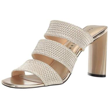 Katy Perry Sapato feminino clássico The Memphis bico fino, Champagne, 6