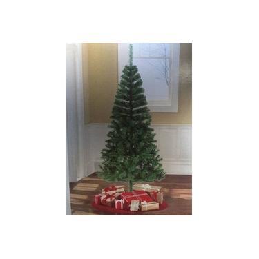 Árvore de Natal 1,20 m 150 Galhos com 100 Luzes Brancas de Led 220v