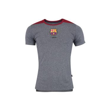 Camiseta Barcelona Mezcla - Masculina - CINZA ESC VINHO Barcelona 4a662e31a12d6
