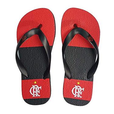 Chinelo Flamengo Infantil Manto 1 Preto 27/28