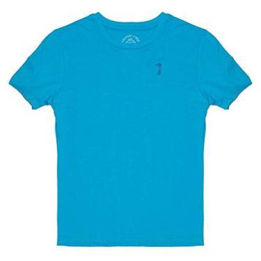 Camiseta Básica Aleatory Kids Lisa Azul-Azul-8