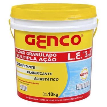 Imagem de Cloro Granulado 3x1 GENCO 10 kg