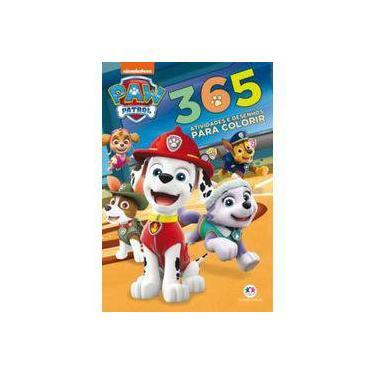 Patrulha Canina: 365 Atividades e Desenhos Para Colorir - Ciranda Cultural - 9788538089353