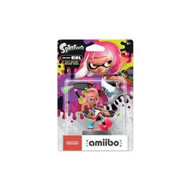 Amiibo Squid Splatoon 2 Inkling Girl neon pink Switch Wii U 3ds