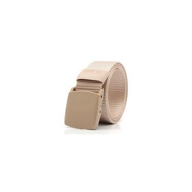 Cinto de fivela de lona elástica para homens e mulheres ao ar livre tiras de cintura