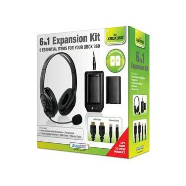 Acessorios Kit de Expansao 6 em 1 para Xbox 360 Dream Gear
