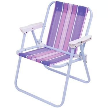 Cadeira de Praia Infantil 2009 MOR - Pintada