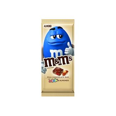 Milk Chocolate Bar M&m 110g Almond