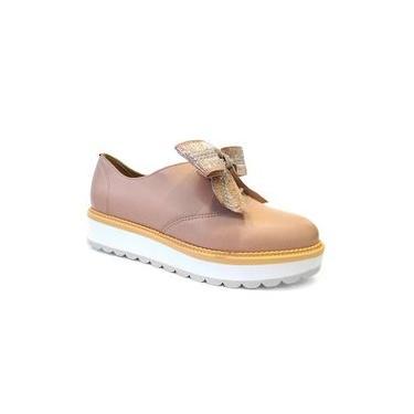 Sapato Casual Oxford 4214.101 - Beira Rio (04) - Rosa