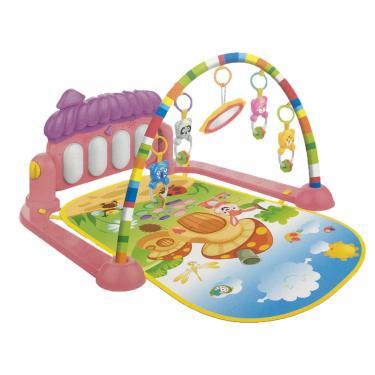 Imagem de Tapete De Atividades Para Bebê Piano Musical Kitstar  Rosa