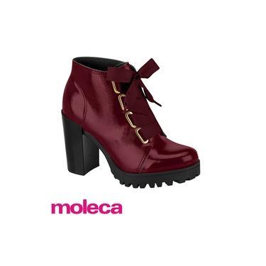 Bota Feminina Ankle Boot Tratorada Moleca 5325.107