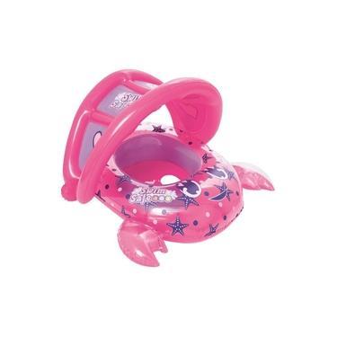 Bote Infantil Sapinhos Com Cobertura Rosa