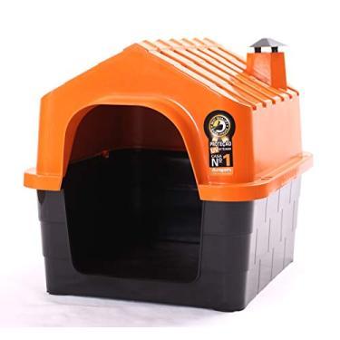 Casinha de cachorro durapet n 3 laranja