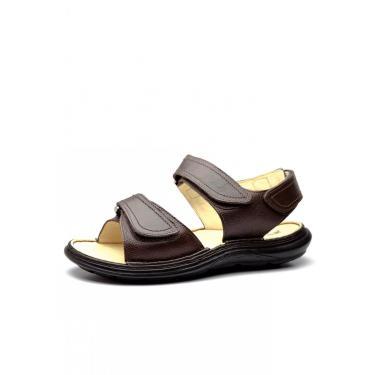 Sandália Masculina Doctor Shoes 917301 Chocolate 917301-CH-176-1044 masculino