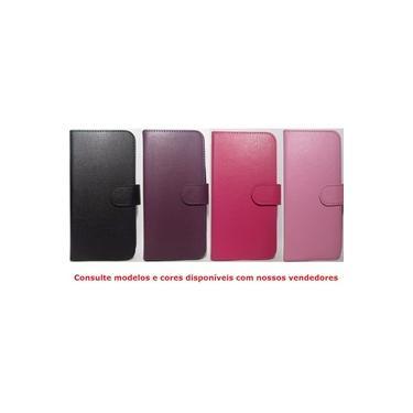 Capa Capinha Carteira Lenovo Vibe K5 - Preta