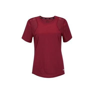 ed27cc9271 Camiseta Nike Run Top SS - Feminina - VERMELHO Nike