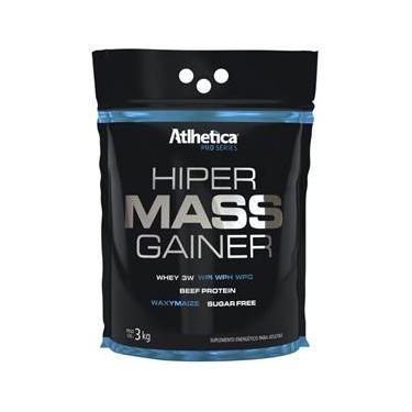 Hipercalorico Hiper Mass Gainer Pró Series - Atlhetica Nutrition Amarelo - 3kg Chocolate