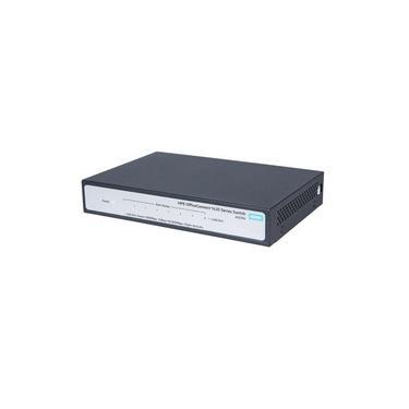 Switch 8 Portas - 10/100/1000 L2 - HP Aruba - 1420 - JH329A