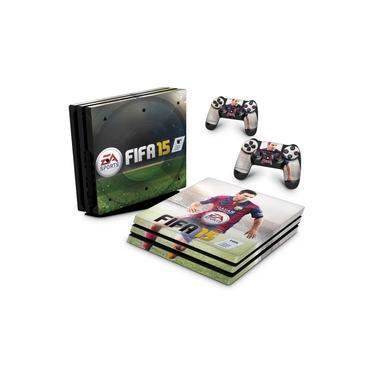 Skin Adesivo para PS4 Pro - Fifa 15