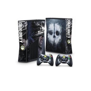 Skin Adesivo para Xbox 360 Slim - Call Of Duty Ghosts