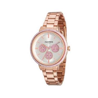 72d5b09a585 Relógio Feminino Analógico Mondaine 89002LPMVRE3 - Rosé