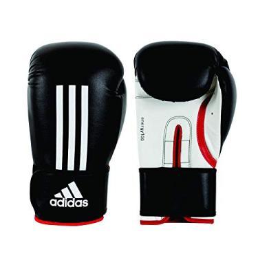 7d4e38032 Luva de Boxe Adidas Energy 100 Preto Branco 10 Oz