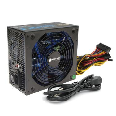 Fonte ATX Real 650W Cooler Led RGB PFC Negativo Hoopson