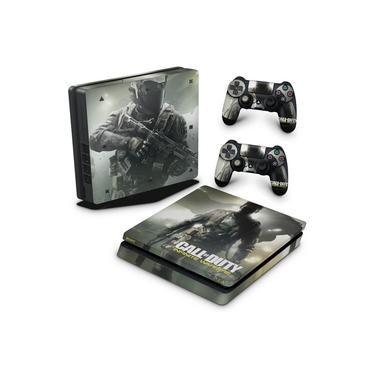Skin Adesivo para PS4 Slim - Call Of Duty: Infinite Warfare