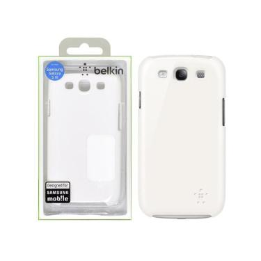 Capa p/ Samsung Galaxy S3 Belkin Shield F8M402TTC03 Branca