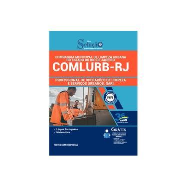 Imagem de Apostila COMLURB RJ - Profissional Operações de Limpeza Gari
