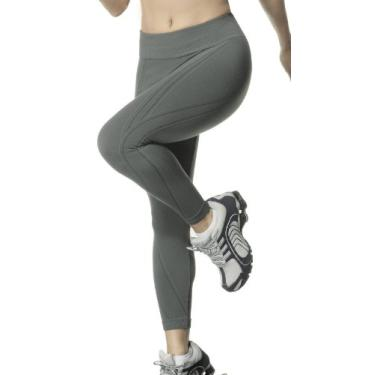Calça legging Max, Lupo Sport, Feminino, Grafite, P
