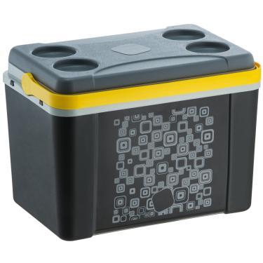 Imagem de Caixa Térmica Cooler 12 Litros Para Gelo Alimento Cerveja Preto Color